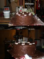 Portal Cake for CTCon '11 by silverwinglie