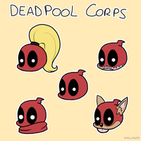 Deadpool Corps by Kallian91