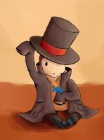 professor Layton chibi by ictercia