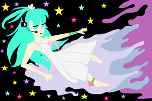 Wish upon a Hatsune Miku by Zombiehorse2