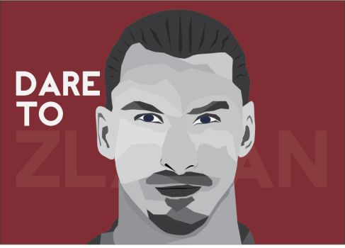 DARE TO ZLATAN by LK181