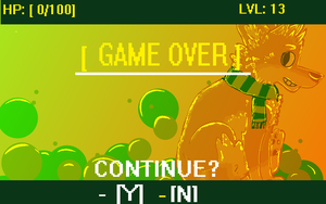[ GAME OVER ] by hellhoundly