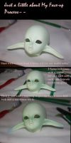 Face-up Process by Cometblack