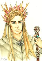 Thranduil by GilwenGreenleaf