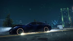 Need For Speed Most Wanted: Flaming Panamera P.3 by MRAFPhotoworks