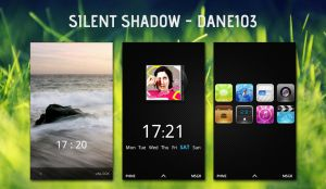HTC Desire - Silent Shadow by Dane103