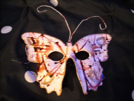 Splicer Butterfly Mask by PhunkdDesigns