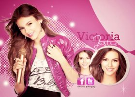 victoria justice by rockincolors