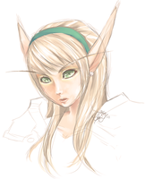 Blood elf by nyaruko