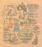 Black Books doodles by sn0otchie
