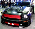 Black Mustang Coupe by toyonda