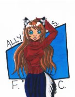FC: Ally in Copics by Miss-Mae