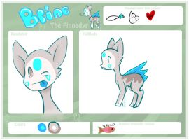 New Brine ref sheet by Mdragonflame