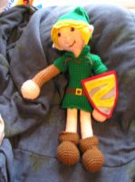 Link Plushie by Bree-Len