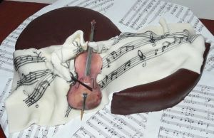 Music cake by monarte