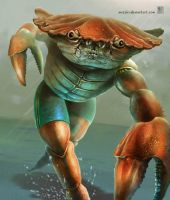 Crab Boy by muzski