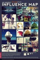 My influence map by Gingershots