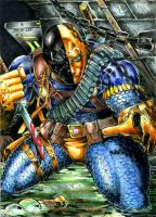 Deathstroke PSC by DKuang