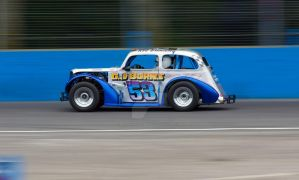 Oval Track Legend 53 Rob Bunting @ Aldershot by Petrol-Head-Images