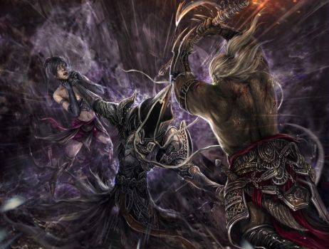 Diablo III: Reaper of Souls Contest entry by PhuThieu1989