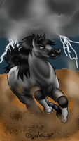 THUNDERSTRUCK--FINISHED by JedaUW