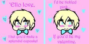 2PEngland Valentine's Card by iTurtleParis