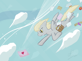 Don't worry, your mail is in good hooves... by HardLugia