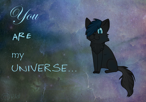 You are my universe... by DelennOfMir