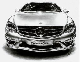 Mercedes Benz by maddrawings