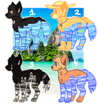CANINE ADOPT!! 50 POINTS EACH!! [CLOSED] by i-Nath