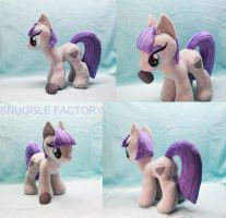 Maud Pie Custom Plushie with magnetic Boulder by SnuggleFactory