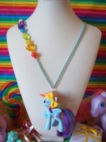 Rainbow Dash Necklace by lessthan3chrissy