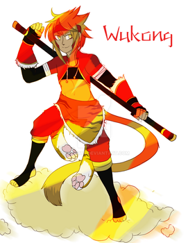 Wukong- Overdrive by HyliArts