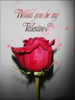 Would you be my valentine by StarsColdNight