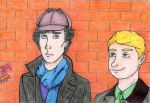Sherlock: Ridiculous hat by MushiAkki