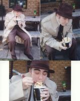 Zenigata Cosplay and Ramen by CoralSnake