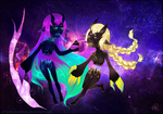 CM: Andromeda and Carina by AurionPride