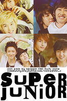 14 Super Junior Icons by ohmyjongwoon