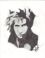 Cloud Strife by CAH123