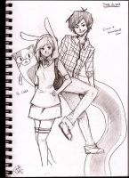 Fiona and Marshall Lee ft. Cake by 8DarkAngel8