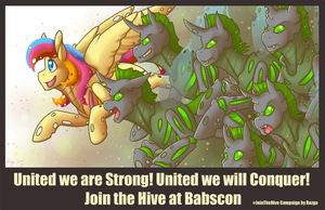 Join The Hive Babscon by rozga-chan