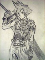 Cloud Strife by DreamsoftheDead