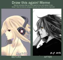 Draw this Again Meme by Escente