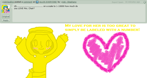 Question 42 - Mrs. Chair! by Ask--Stephano