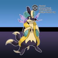 #186 Floatzel (Joseon Form) by locomotive111
