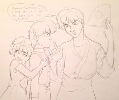 Ranma, I give you permission!! by irishgirl982