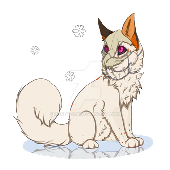 Chibi Canine Winter YCH for hellehna by Honey-Chai