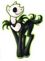 Jack Skellington Pony by clueless-nu