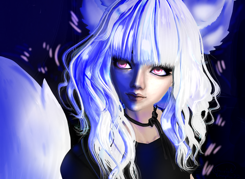 Wolf Girl by ginger52