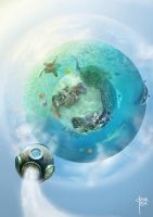 Water planet by cristalreza